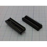 ПАНЕЛЬ ДЛЯ М/С 28 pin 2,54 мм   узк.