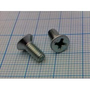 ВИНТ DIN965 М4 4х10мм  (+) (10шт)