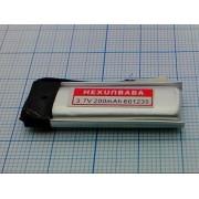 АККУМУЛЯТОР LP 601235-PCM (Li-POL) 3,7В 200мА/ч
