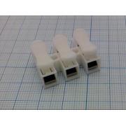 ЗАЖИМ для проводов  3х0,5-2,5мм2 (10А 220В)