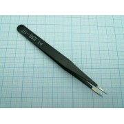 ПИНЦЕТ ESD-10 антистатический (аналог (GT-10ESD)) 120мм, прямой,