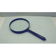 ЛУПА 3кр 100мм  (аналог (451802)) пластм,ручная,черный