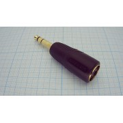 АДАПТЕР 6,3 шт. стерео - DIN 5 pin гн. №421-920-2