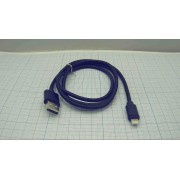 КАБЕЛЬ USB lighting DRM-NL2-01  1м 2А