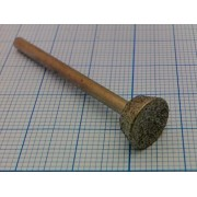 ШАРОШКА АЛМАЗНАЯ D=10,5мм L=40мм  по металлу