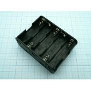 КОРОБ BH3103 AA 5х1+5х1  (аналог (14500)) для батареек