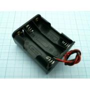 КОРОБ BH363 AA 3х1+3х1  (аналог (14500)) для батареек