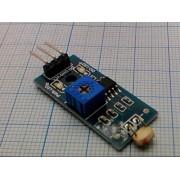 ДАТЧИК освещения с фоторезистором регулируемый  для Arduino