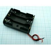 КОРОБ Q-211 AA-3 BH331A  (аналог (14500) пайка) для батареек