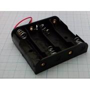 КОРОБ Q-212 AAх4 BH341-1А  (аналог (14500) пайка) для батареек