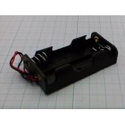 КОРОБ BH321 AAх2 для батареек (аналог (14500))