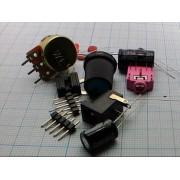 РАДИОКОНСТРУКТОР аудиоусилитель стерео 3-12В  (на LM386)