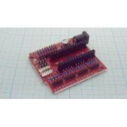 ПЛАТА РАСШИРЕНИЯ с кнопкой сброса D13  для Arduino