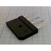 ДИОДНЫЙ МОСТ KBJ2510 zip-4 (аналог (GBJ2510)) 25А 1000В