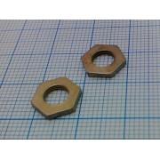 ГАЙКА DIN439-1 (35шт) М5,5 10х1,8мм без фаски