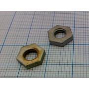 ГАЙКА DIN439-1 (44шт) М5 10х2,5мм без фаски