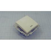 ВЫКЛЮЧАТЕЛЬ EMV10-121-10  1-кл с индик. 10А 230В белый