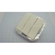 ВЫКЛЮЧАТЕЛЬ EMV10-024-10  3-кл 10А 230В белый
