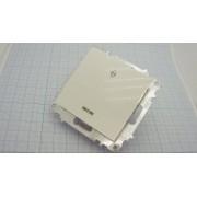 ВЫКЛЮЧАТЕЛЬ EMV10-125-10 230В белый 1-кл проходной с индик 10А