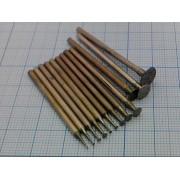 НАБОР алмазных шлифовальных головок (12шт) 0,5-8мм