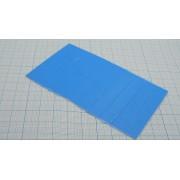 ТЕРМОПРОКЛАДКА силиконовая высокоэффективная  10 х 10 х 1мм