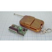 БЕСПРОВОДНОЙ приемник-передатчик М4 315МГц 3,3-5В 4кнопки Arduino
