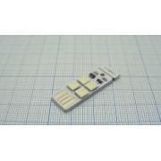 ФОНАРЬ USB с сенсорной кнопкой