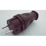 ВИЛКА 106-0400-105 IP44 электр. 16А 250В