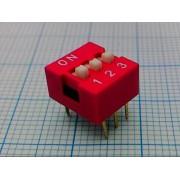 DIP-ПЕРЕКЛЮЧАТЕЛЬ DS-03  (аналог (SWD1-3))