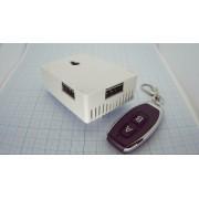 БЕСПРОВОДНОЙ приемник-передатчик два канала с перемычкой KR2202-4 220В 433МГц 4брелка + модуль