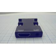 ВИДЕОКОНВЕРТЕР вход HDMI гн. - выход VGA шт.
