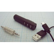 ПЕРЕХОДНИК Bluetooth в AUX  питание от USB