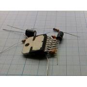 РАДИОКОНСТРУКТОР аудиоусилитель стерео 15Вт  (на TDA7297)
