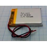 АККУМУЛЯТОР LP 503040-PCM (Li-POL) 3,7В 600мА/ч