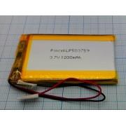 АККУМУЛЯТОР LP 503759-PCM (Li-POL) 3,7В 1300мА/ч