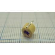 КОНДЕНСАТОР JML06-1 1-40пФ dip (аналог (TZBx4)) подстроечный желтый