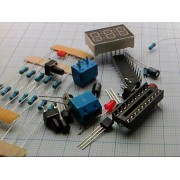 РАДИОКОНСТРУКТОР электронный термометр  (на W79E2051-DU и DS18B20)