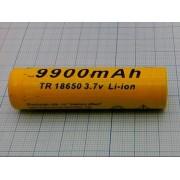 АККУМУЛЯТОР 18650  (аналог (2600/4200/5800мА/ч)) 3,7В 9900мА/ч
